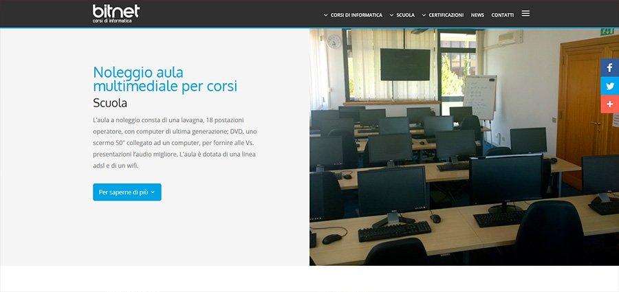 Noleggio aule multimediali Roma