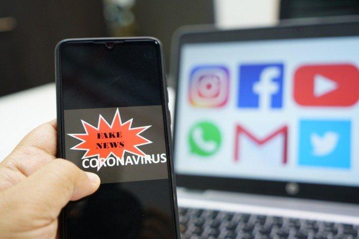 coronavirus e social network infodemia